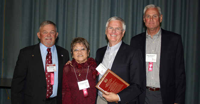 Slide: Jim Gray, Susie Goto, Don Bransford and Gray Donnell
