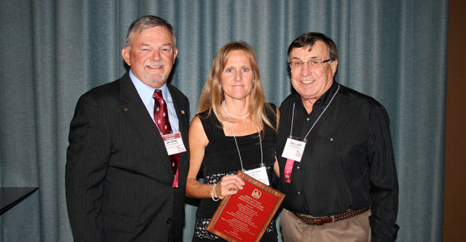 Slide: Jim Gray, Stacey Buehner and Gary Judd